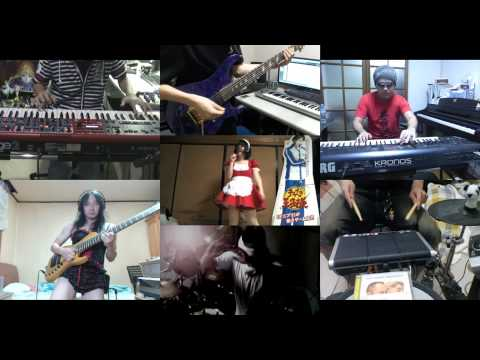 [HD]Accel World OP [Burst The Gravity] Band Cover