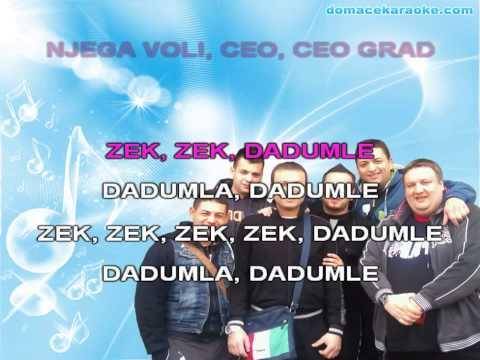 Gagi Band I Dzej  Zek Zek Dadumle -karaoke video
