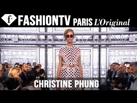 Christine Phung SpringSummer 2015 Runway Show | Paris Fashion...