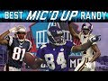 Randy Moss Best Micd Up Moments | Sound FX | NFL Films