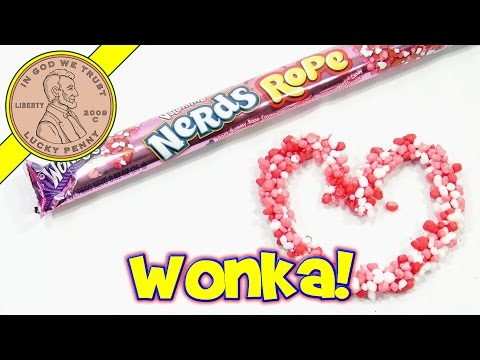 Wonka Valentine Nerds Rope - I Made A Tasty Nerd Heart!