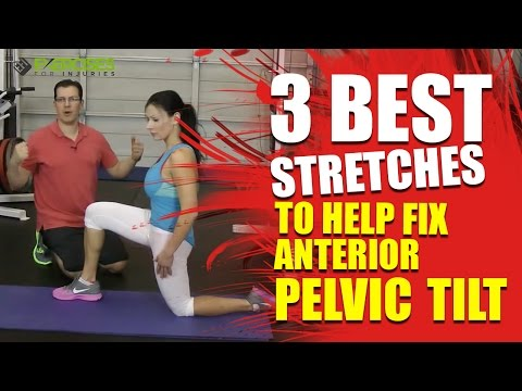 how to fix anterior pelvic tilt while sitting