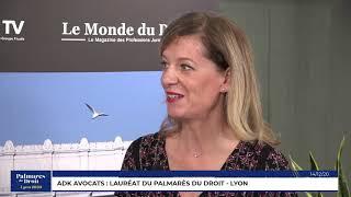 Décideurs du Droit - ADK Avocats - Lauréat du Palmarès du Droit - Lyon 2020