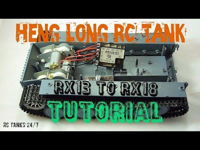 Heng Long RC Tank RX13 to RX18 Control Board Tutorial