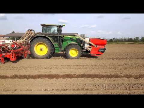 John Deere 6190r+Solà 10 file |Mais Sowing| Nota Team&Cascina Bornago 3/4