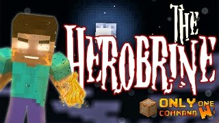 Summon Herobrine in Vanilla Minecraft with only one command block.  (Halloween Special)
