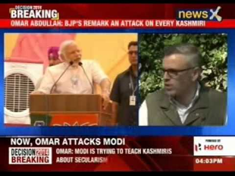 Omar Abdullah defends father on Narendra Modi remark