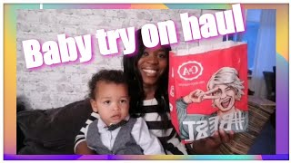 C&A, Primark baby try on