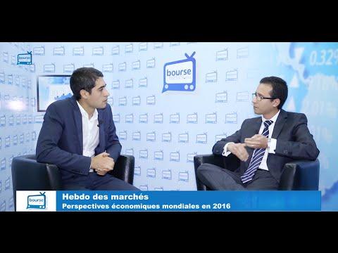 Hebdo des marchés: Perspectives économiques mondiales en 2016