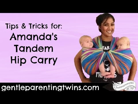 Amanda's Tandem Hip Carry: Tips and Tricks