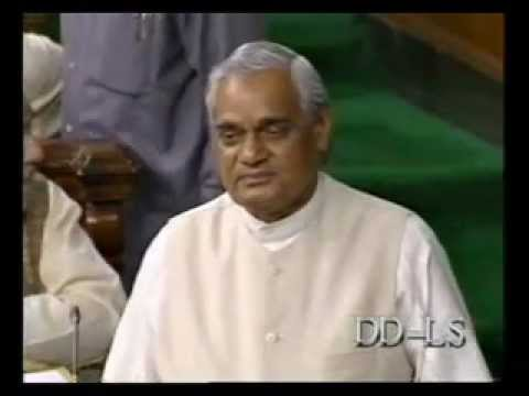 Atal Bihari Vajpayee Speech At Dawn Of His Stable Government video