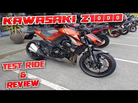 #161 Kawasaki Z1000 2017 Detailed Test Ride & Review!