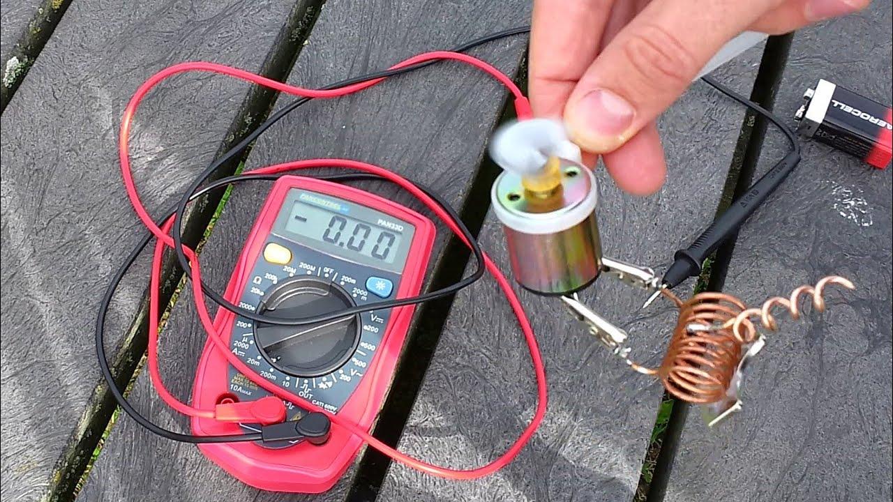 Как сделать электромагнит 8