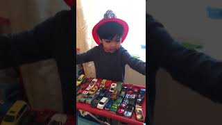 Rony showing his cool cars collection