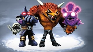 Battles and Capture Sequences of the Undead Villains in Skylanders: Trap Team