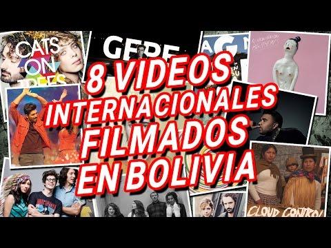 8 Videos INTERNACIONALES filmados en BOLIVIA