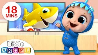Baby Shark Dance | Baby Shark Song | Nursery Rhymes & Kids Songs by Little Angel