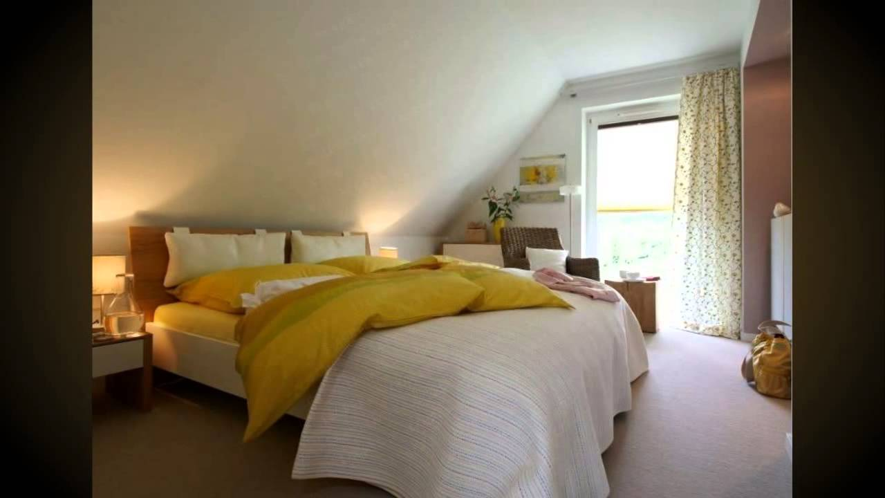 Schlafzimmer Mit Dachschrge