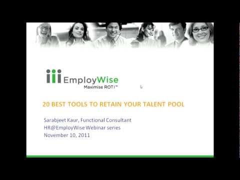 20 Best Tools for Retaining Your Talent Pool - Part I