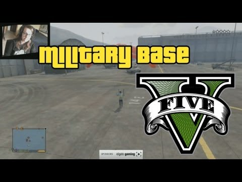 GTA 5 Military Base + Funnies/Fails (GTA V)