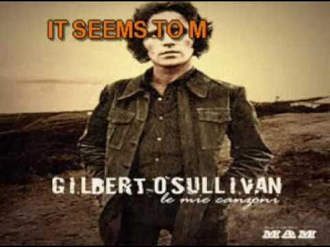 Gilbert O'sullivan   Alone Again