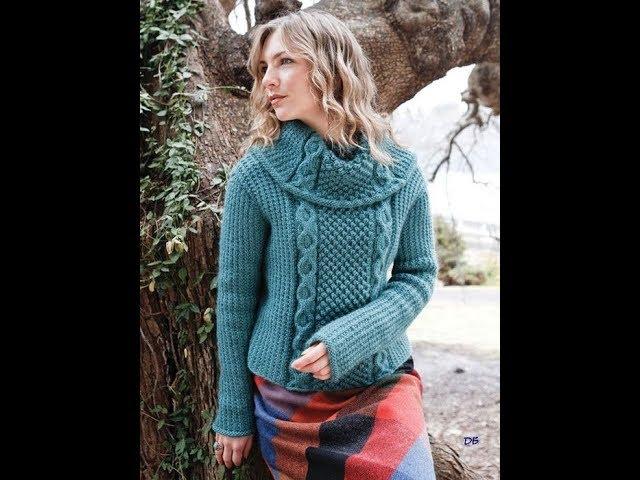 Вязание Спицами - Женские Джемпера, Пуловеры - 2019 / Knit Knitted Sweaters