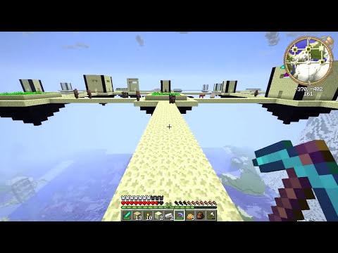 VILA AÉREA! - Sobrevivência Fenonástica 2: Minecraft #6