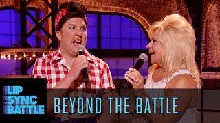 Nick Swardson & Theresa Caputo Go Beyond the Battle | Lip Sync Battle