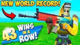 *WORLD RECORD* 43 WINS IN A ROW!! – Fortnite Funny Fails and WTF Moments! #699