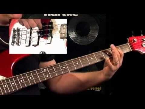 Bass Guitar Lessons - Fretboard Fitness - #4 Phrygian Mode - Stu Hamm video