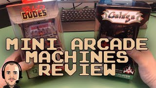 Mini Arcade Machine Review - Galaga and Bad Dudes!