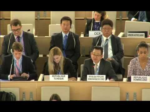 North Korea on Human Rights, UN 150921
