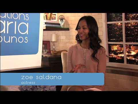 Zoe Saldana | Conversations with Maria Menounos | May 15, 2013