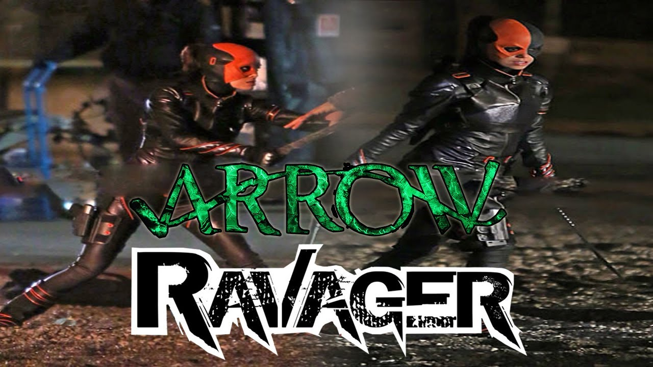 Arrow Leaked Ravager Leaked Photos on Arrow