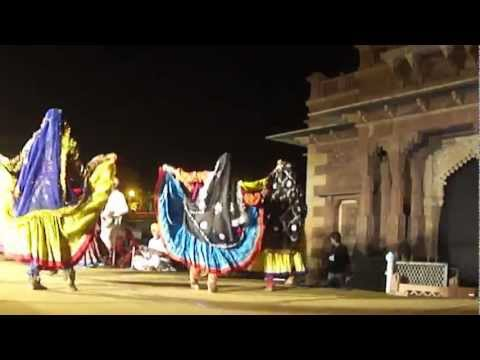 traditional Mewati Dance performed at Jodhpur RIFF 2012