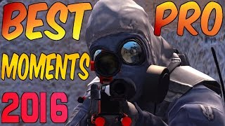 CS:GO - BEST PRO MOMENTS! 2016 (Flickshots, Crazy Clutches, Inhuman Reactions, ACEs, Best Frags)