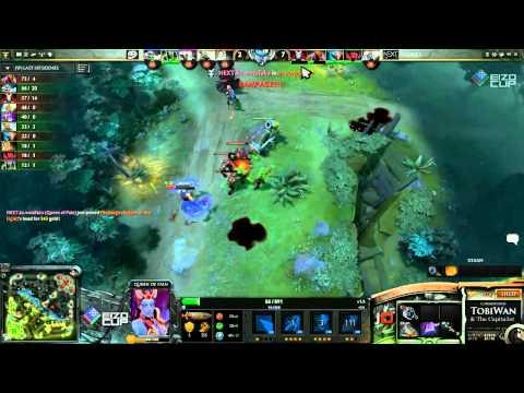tM vs NextKZ Game 1  EIZO Cup #4 DOTA 2 - TobiWan