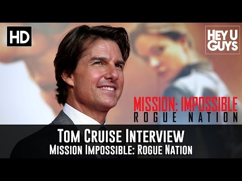 Tom Cruise Interview - Mission Impossible: Rogue Nation Premiere + Top Gun 2 Update