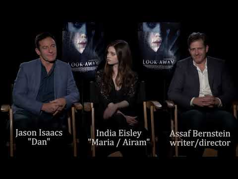 """Without Your Head """"Look Away"""" Interview With Jason Isaacs, India Eisley, And Assaf Bernstein"""
