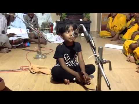 Thirupathi Balaji's Govinda Namaalu By Baby Sameeksha video