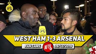 West Ham 1-3 Arsenal | Chambers Looked Excellent But Let's Get Dunk!