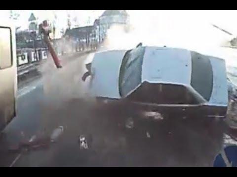 Out of Control Car Crash