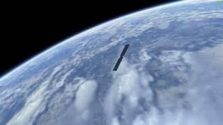 KSP land textures, 43k clouds, and scatterer test (full day side orbit)