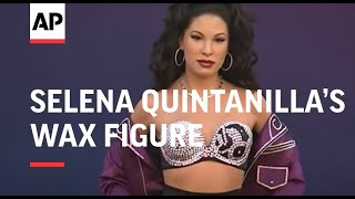 Selena Quintanilla's family react to the new wax figure of the deceased star