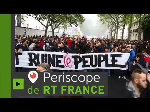 EN DIRECT : nouvelle journée de mobilisation en France contre la Loi Travail
