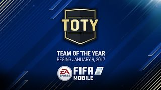 FIFA 17 MOBILE 1.000.000 TOTY PACK OPENING