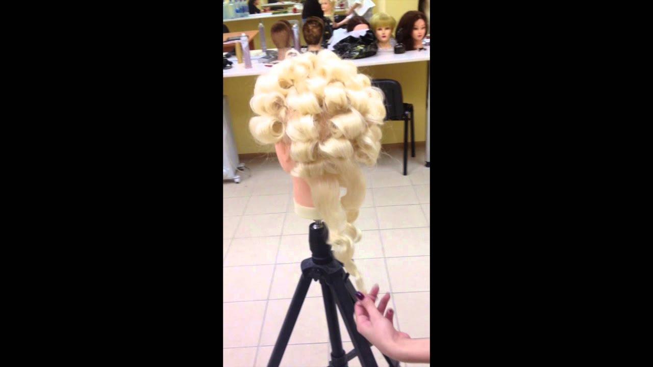 Как сделать чтобы кудри держались на длинных волосах 334