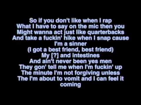 Eminem Ft Yelawolf - Best Friend Lyrics Lyric Video