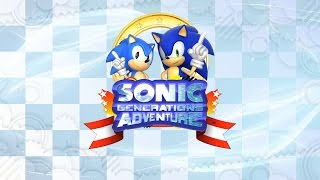 Sonic Adventure Generations - Pyramid Cave - Modern Sonic