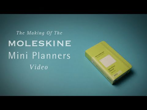 Making of Moleskine MINI PLANNERS VIDEO